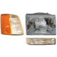 1ALHT00009-1993-96 Jeep Grand Cherokee Headlight  Corner Light  and Parking Light Kit Passenger Side