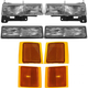 1ALHT00024-Chevy Headlight  Corner Light  and Parking Light Kit