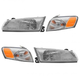1ALHT00028-1997-99 Toyota Camry Headlight and Corner Light Kit
