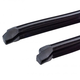 1AWSD00323-1967 Chevy Camaro Pontiac Firebird Vent Window Glass Run Channel Weatherstrip Seal Pair