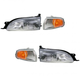 1ALHT00010-1995-96 Toyota Camry Headlight and Corner Light Kit