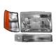 1ALHT00013-1997-98 Jeep Grand Cherokee Headlight  Corner Light  and Parking Light Kit Passenger Side