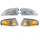 1ALHT00015-1994-98 Ford Mustang Headlight and Corner Light Kit