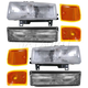 1ALHT00046-1996-02 Chevy Headlight  Corner Light  and Parking Light Kit