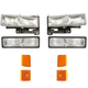 1ALHT00045-GMC Headlight  Corner Light  and Parking Light Kit