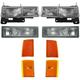 1ALHT00039-Chevy Headlight  Corner Light  and Parking Light Kit