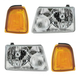 1ALHT00037-2001-05 Ford Ranger Headlight and Corner Light Kit