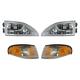 1ALHT00068-1994-98 Ford Mustang Headlight and Corner Light Kit
