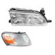 1ALHT00056-Toyota Corolla Headlight and Corner Light Kit Passenger Side