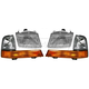 1ALHT00054-1998-00 Ford Ranger Headlight and Corner Light Kit