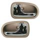 1ADHS01243-1995-03 Mazda Protege Interior Door Handle Pair