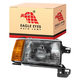 1ALHL00317-1987-91 Ford Headlight