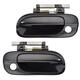 1ADHS01199-2000-06 Nissan Sentra Exterior Door Handle Front Pair