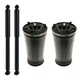 1ASSP00485-Air Spring & Shock Absorber Kit Rear