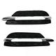 1ABGP00015-Mercedes Benz C250 C300 C350 Grille Pair