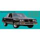 1AXDC00020-1985-87 Oldsmobile 442 Decal Kit