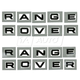 1AXDC00027-2003-09 Land Rover Range Rover Hood & Lift Gate Decal Lettering Kit