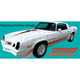 1AXDC00008-1980-81 Chevy Camaro Decal & Stripe Kit
