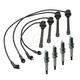 1AETK00031-Mitsubishi Galant Spark Plugs & Ignition Wires Kit