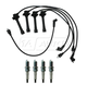 1AETK00026-1993-97 Mazda 626 MX-6 Spark Plugs & Ignition Wires Kit