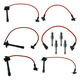 1AETK00012-Toyota Spark Plugs & Ignition Wires Kit