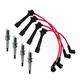 1AETK00017-1990-93 Mazda Miata MX-5 Spark Plugs & Ignition Wires Kit