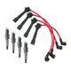 1AETK00018-Mazda Miata MX-5 Spark Plugs & Ignition Wires Kit