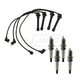 1AETK00009-Spark Plugs & Ignition Wires Kit