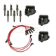 1AETK00007-Ignition Coils  Spark Plugs & Wires Kit