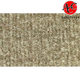 ZAICK08967-1981-86 Chevy K20 Truck Complete Carpet 1251-Almond