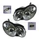 1ALHP01037-Mercedes Benz Headlight Pair