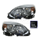 1ALHP01038-Mercedes Benz Headlight Pair