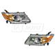 1ALHP01036-2011-13 Honda Odyssey Headlight Pair