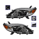 1ALHP01034-2011-14 Toyota Sienna Headlight Pair