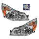 1ALHP01039-2010-12 Subaru Legacy Outback Headlight Pair