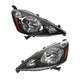 1ALHP01025-2012-14 Honda FIT Headlight Pair