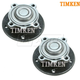 TKSHS00393-BMW Wheel Bearing & Hub Assembly Front Pair Timken HA590162