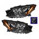 1ALHP01014-2007-09 Mazda CX-7 Headlight Pair
