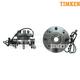TKSHS00399-2000-02 Dodge Wheel Bearing & Hub Assembly Front Pair