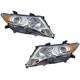1ALHP01004-2009-16 Toyota Venza Headlight Pair
