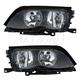 1ALHP01005-2002-05 BMW Headlight Pair