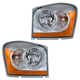 1ALHP01006-2006 Dodge Durango Headlight Pair