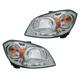 1ALHP01009-Chevy Cobalt Pontiac G5 Headlight Pair
