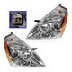 1ALHP01072-Kia Sedona Headlight Pair