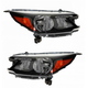 1ALHP01071-2012-14 Honda CR-V Headlight Pair