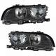 1ALHP01070-BMW Headlight Pair
