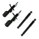 1ASSP00299-2003-07 Saturn Ion Shock & Strut Kit Front Rear