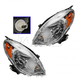 1ALHP01069-2012-13 Nissan Versa Headlight Pair