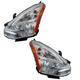 1ALHP01061-2011-12 Nissan Rogue Headlight Pair