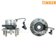 TKSHS00386-Wheel Bearing & Hub Assembly Front Pair Timken HA590086